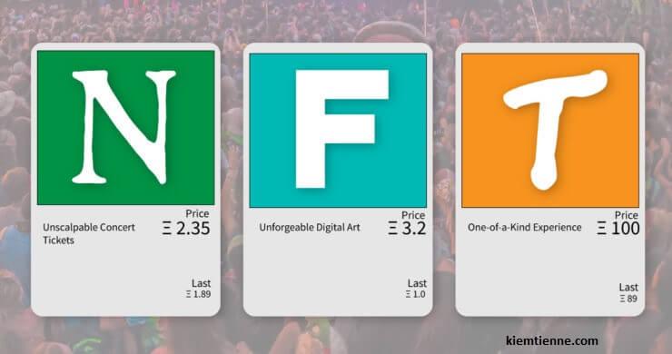 NFT là gì? Non fungible token là gì? Hướng dẫn, Giải thích NFT chi tiết